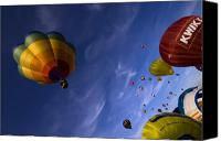 Balloon Fiesta Canvas Prints - Good Vibrations Canvas Print by Angel  Tarantella