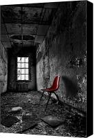 Derelict Canvas Prints - Goodbye Inocence Canvas Print by Evelina Kremsdorf