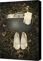 Glove Canvas Prints - Goodbye Canvas Print by Joana Kruse