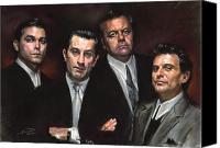 Family Canvas Prints - Goodfellas Canvas Print by Ylli Haruni