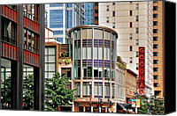 World Class Canvas Prints - Goodman Theatre Chicago Illinois Canvas Print by Christine Till