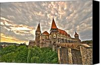 Knights Canvas Prints - Gothic Castle Canvas Print by Mircea Costina Photography