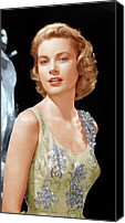 Kelly Canvas Prints - Grace Kelly, Ca. 1955 Canvas Print by Everett