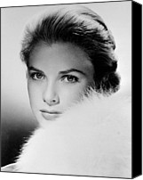 Kelly Canvas Prints - Grace Kelly, Circa 1950s Canvas Print by Everett