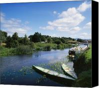 White River Scene Canvas Prints - Graiguenamanagh, River Barrow, Co Canvas Print by The Irish Image Collection