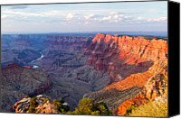 Color Photography Canvas Prints - Grand Canyon National Park, Arizona Canvas Print by Javier Hueso