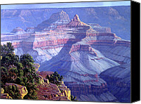 Four Corners Canvas Prints - Grand Canyon Canvas Print by Randy Follis