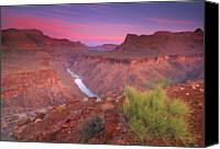 Beauty Canvas Prints - Grand Canyon Sunrise Canvas Print by David Kiene