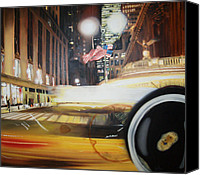 Hyperrealism Canvas Prints - Grand central Canvas Print by Gonzalo Salazar