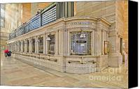 Public Transportation Canvas Prints - Grand Central Terminal Canvas Print by Susan Candelario