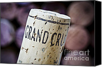 Bordeaux Canvas Prints - Grand Cru Canvas Print by Frank Tschakert