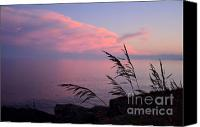 Lighthouse Pyrography Canvas Prints - Grand Sunset Canvas Print by Whispering Feather Gallery
