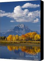 Grand Teton Canvas Prints - Grand Teton XII Canvas Print by John Blumenkamp