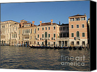 Italia Canvas Prints - Grande canal. Venice Canvas Print by Bernard Jaubert
