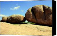 Marty Koch Canvas Prints - Granite Boulders 2  Canvas Print by Marty Koch