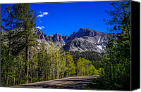Aspen Trees Canvas Prints - Great Basin National Park Wheeler Peak Canvas Print by Scott McGuire