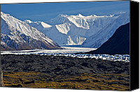 Alaska Canvas Prints - Great Wall Canvas Print by Ed Boudreau