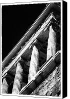 Acropolis Canvas Prints - Greek Columns Canvas Print by John Rizzuto