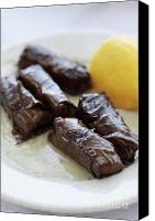 Dolma Canvas Prints - Greek Dolmades Canvas Print by Neil Overy
