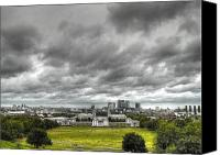 Naval College Canvas Prints - Greenwich and Docklands HDR Canvas Print by David French