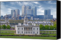 Naval College Canvas Prints - Greenwich Canvas Print by Rod Jones