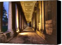 Naval College Canvas Prints - Greenwich Royal Naval College  Canvas Print by David French