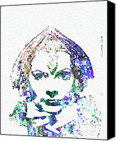 Want Canvas Prints - Greta Garbo Canvas Print by Irina  March