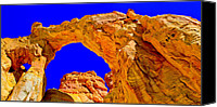 National Monument Canvas Prints - Grosvenor Arch Canvas Print by Chad Dutson