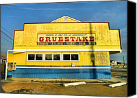 Chincoteague Canvas Prints - Grubstake Canvas Print by Steven Ainsworth