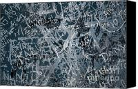 Writing Canvas Prints - Grunge Background I Canvas Print by Carlos Caetano