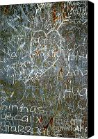 Concrete Canvas Prints - Grunge Background III Canvas Print by Carlos Caetano