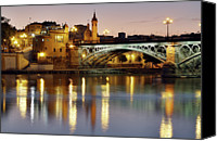Arch Bridge Canvas Prints - Guadalquivir Canvas Print by Gustavo