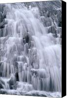 Water Art Canvas Prints - Guam, Tarzan Falls Canvas Print by Greg Vaughn - Printscapes