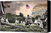 War Memorial Canvas Prints - Guardians Canvas Print by JC Findley