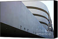 Guggenheim Canvas Prints - Guggenheim Canvas Print by David Bearden