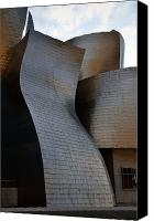 Guggenheim Canvas Prints - Guggenheim Museum Bilbao - 1 Canvas Print by RicardMN Photography