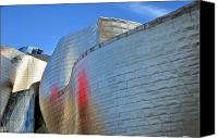 Guggenheim Canvas Prints - Guggenheim Museum Bilbao - 3 Canvas Print by RicardMN Photography