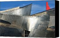 Guggenheim Canvas Prints - Guggenheim Museum Bilbao - 5 Canvas Print by RicardMN Photography