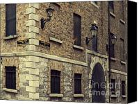 Europe Pyrography Canvas Prints - Guinness Storehouse Dublin Canvas Print by Louise Fahy