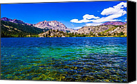 Gull Photo Canvas Prints - Gull Lake near June Lakes California Canvas Print by Scott McGuire