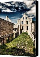 Ruins Canvas Prints - Ha Ha Tonka Canvas Print by John K Sampson