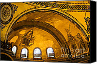 Sofia Canvas Prints - Hagia Sophia Architectural Details Canvas Print by Artur Bogacki