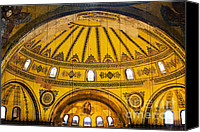 Sofia Canvas Prints - Hagia Sophia Architecture Canvas Print by Artur Bogacki