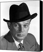 Publicity Shot Canvas Prints - Half Angel, Joseph Cotten, 1951 Canvas Print by Everett