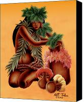 Polynesian Pop Canvas Prints - Halia    Canvas Print by Keith Tucker
