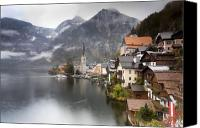 Forest Canvas Prints - Hallstatt Canvas Print by Andre Goncalves
