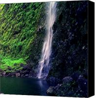 Kalalau Canvas Prints - Hanakoa Falls  Canvas Print by Kevin Smith