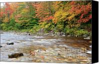 White Mountains Canvas Prints - Hancock Branch - White Mountains New Hampshire  Canvas Print by Erin Paul Donovan