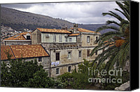 Dubrovnik Canvas Prints - Hanging Out To Dry In Dubrovnik 1 Canvas Print by Madeline Ellis
