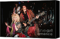 Rich Fuscia Canvas Prints - Hanoi Rocks  Canvas Print by Rich Fuscia